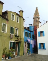 Leaning tower Burano