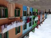 Burano colourful houses