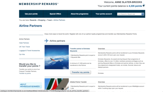 Airline Credit Card Bonuses