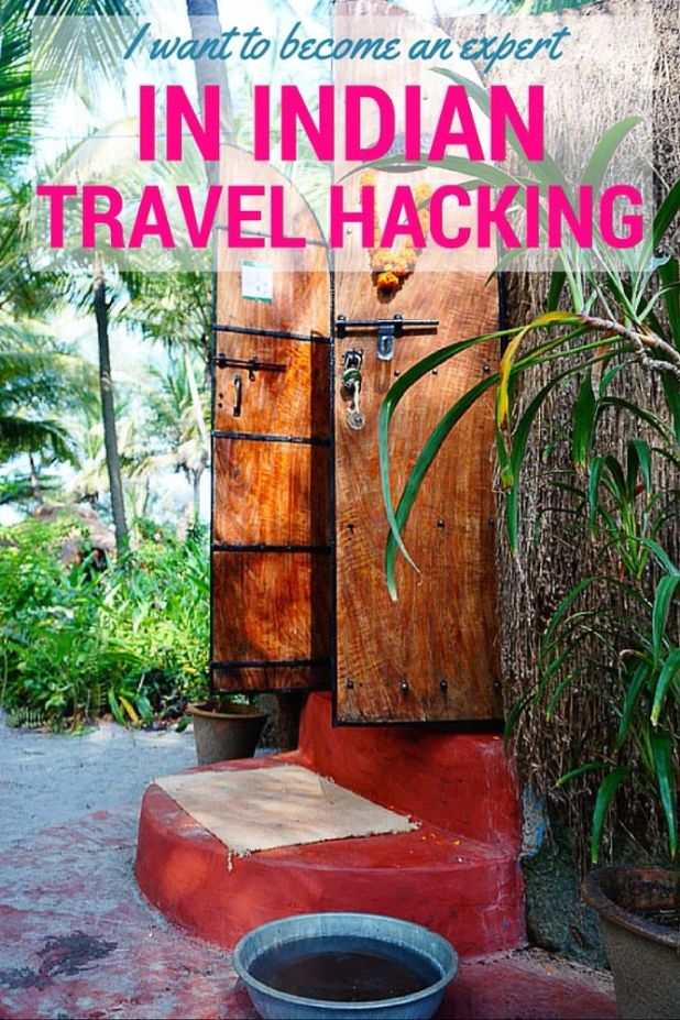 Indian travel hacking Pinterest