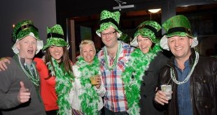 Celebrating st Patrick's day in new orleams