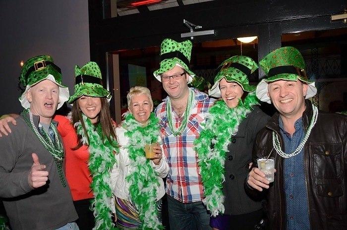 Celebrating st Patrick's day in new orleams
