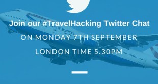 Travel hacking Twitter chat