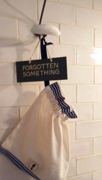 Forgotten something