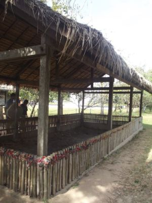 Excavation area in the Killing Fields