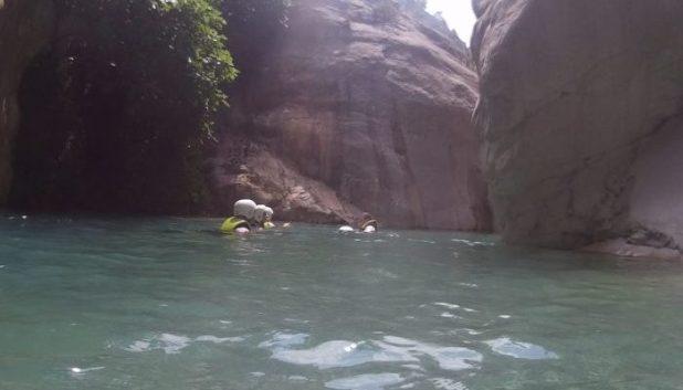 Canyoning in Goynuk Canyon