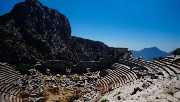 The amphitheatre of Termessos