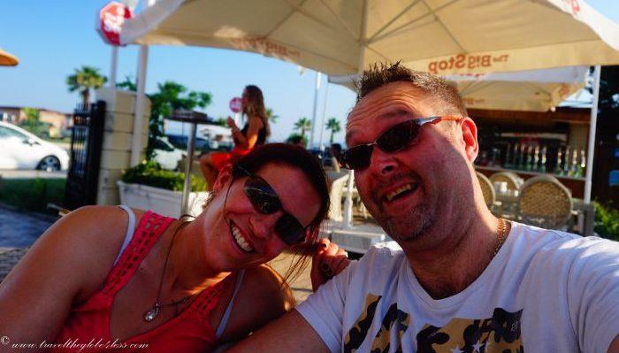 beachside bar in Konyaalti, Antalya