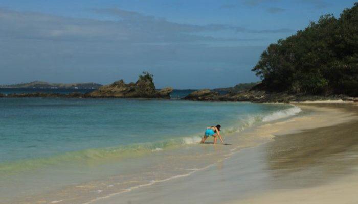 Los Calagues island