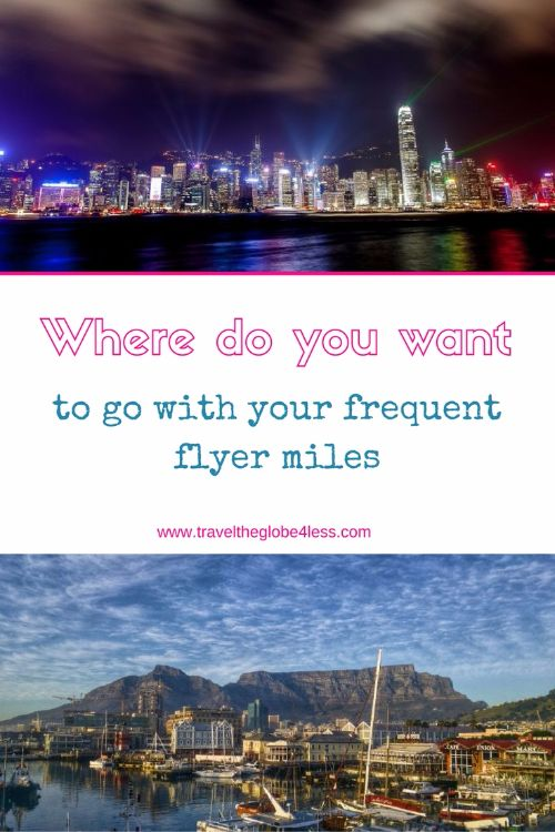 Where do you want to go with your frequent flyer miles Pinterest?