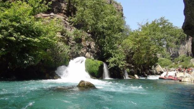 white water rafting in Antalya 5
