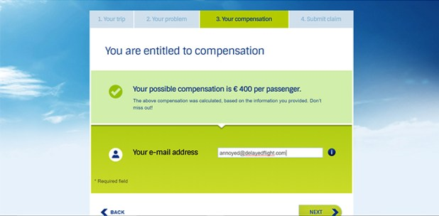 Your flight delay compensation