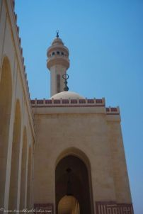 The minaret of the Al Fatih mosque
