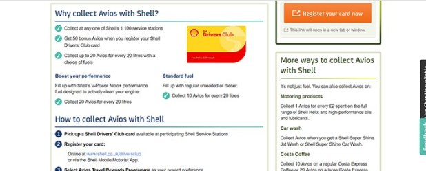 Register Shell Drivers Card screenshot