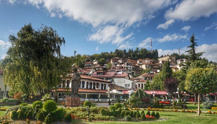The Old Town of Ohrid, Macedonia