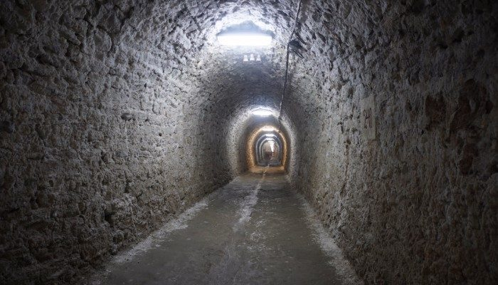 Corridor of Salina Turda
