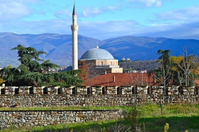 Sultan Murat mosque, Skopje, Macedonia
