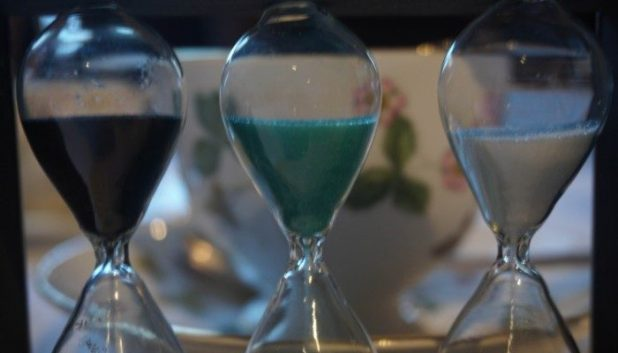 Tea timers at the Millennium Mayfair