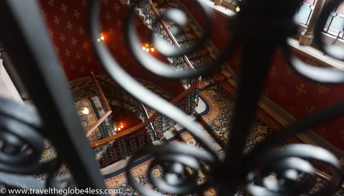 The Grand Staircase at the Renaissance, St Pancras