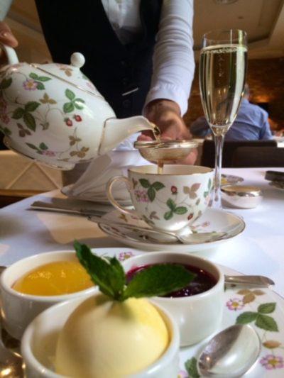 Tea time at the Millennium Mayfair
