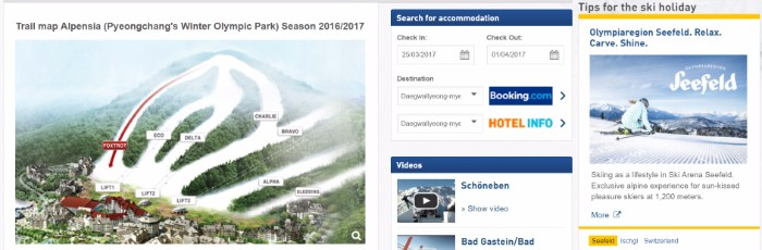 Alpensia ski slopes
