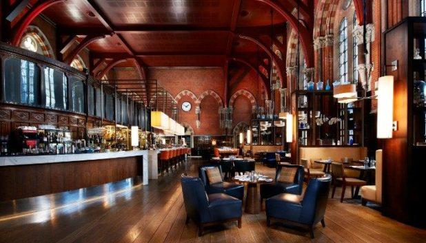 Restaurant and bar, St Pancras