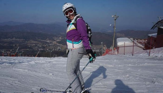 Yongpyong alpine ski resort 2018 Winter Olympics