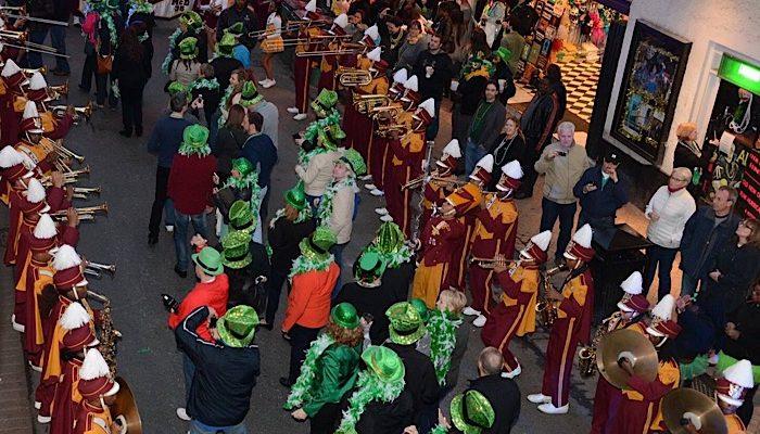French Quarter parade