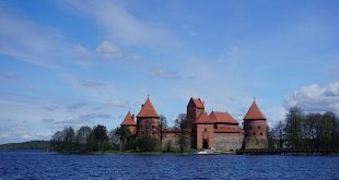 Awesome views of Trakai