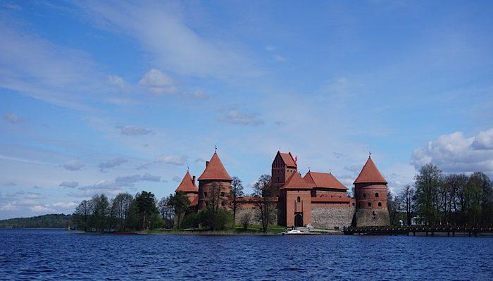 Awesome views of Trakai