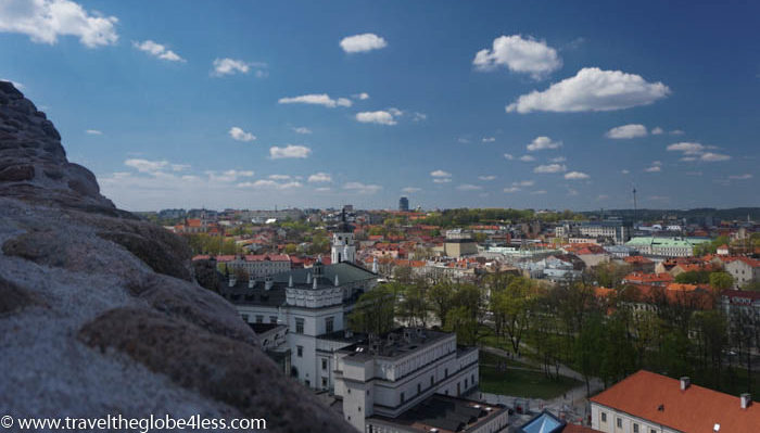 View from Gediminas castle