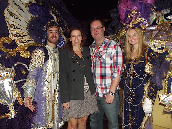 New Orleans Mardi Gras party