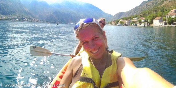 kayaying in Kotor