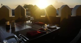 Doubletree Stonetown rooftop bar