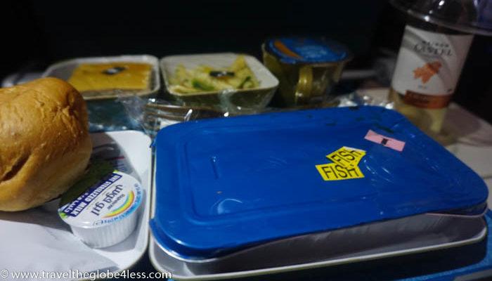Oman Air main meal