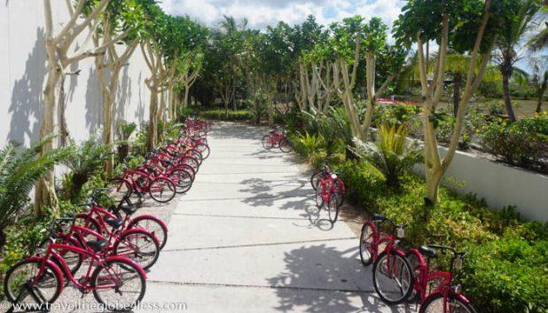 Residence Zanzibar cycling