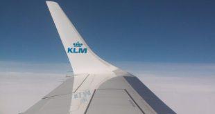 KLM plane