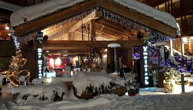 Ymeletrob bar, Cervinia