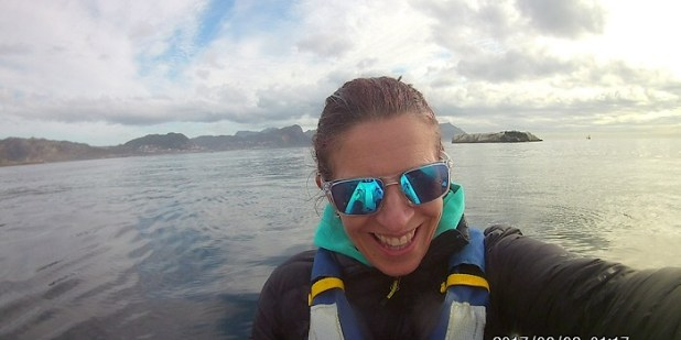 Sea kayaking in Cape Town