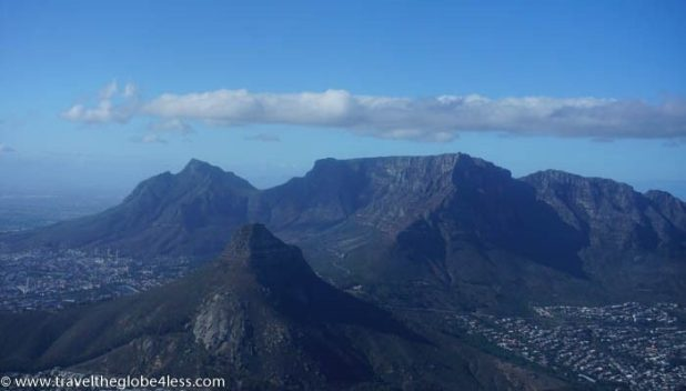 Lions Head and Table Mountain