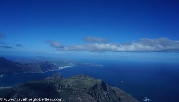 South Africa coastline from an helicopter