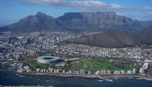 Views of Green Point and Table Mountain