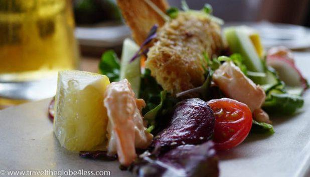 prawn salad starter