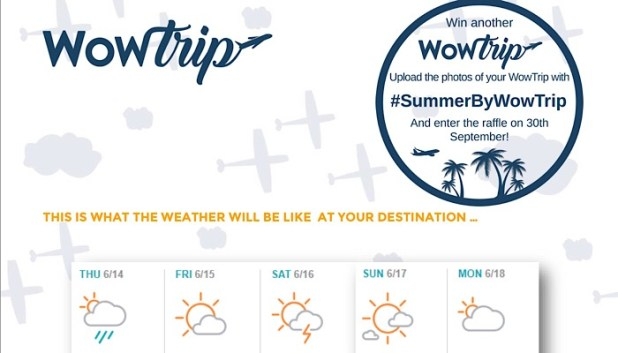WowTrip weather guide