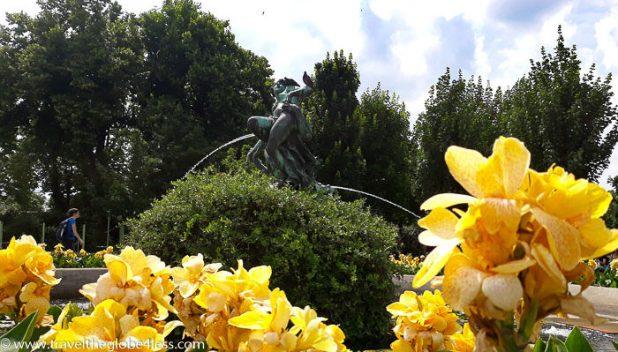 Vienna public gardens