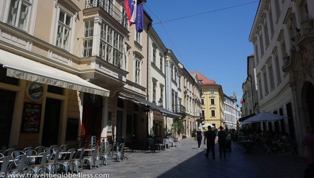 street scenes of Bratislava