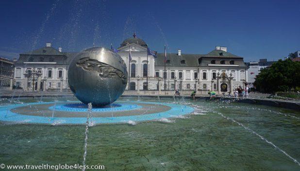 Bratislava - Presidential residence