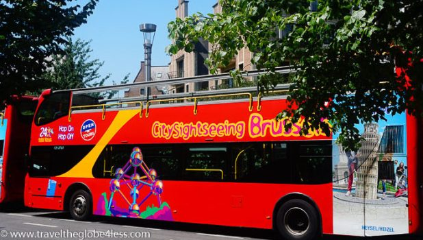 City Sightseeing tour Brussels