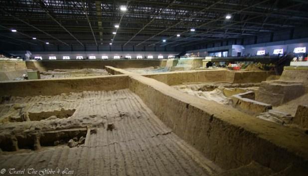 Terracotta Warriors Pit 2 dig