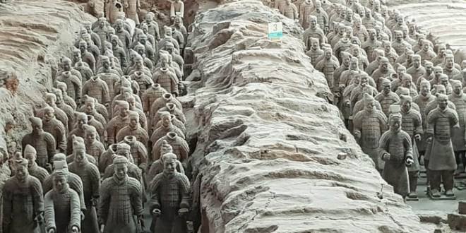 Terracotta Warriors Pit